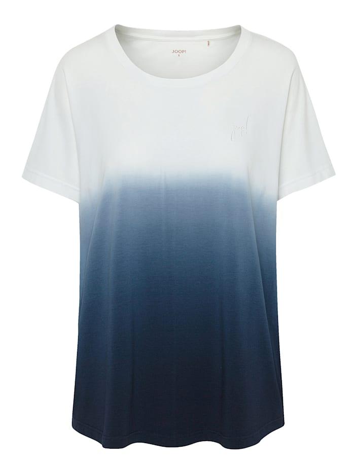 JOOP! T - Shirt aus der Serie Soft Pop, Ecru/Marineblau