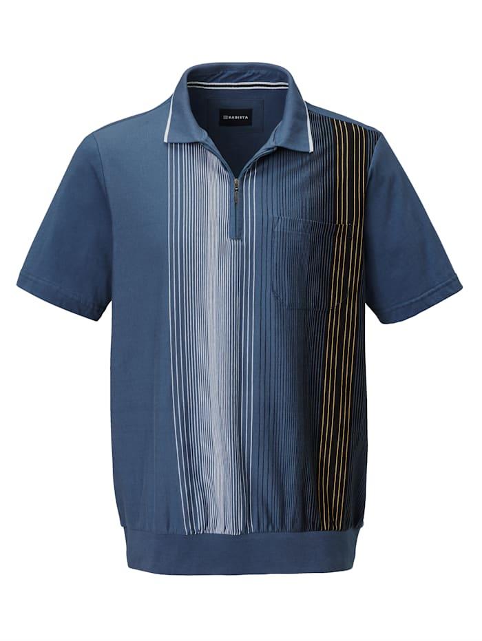 BABISTA Poloshirt met rits, Blauw