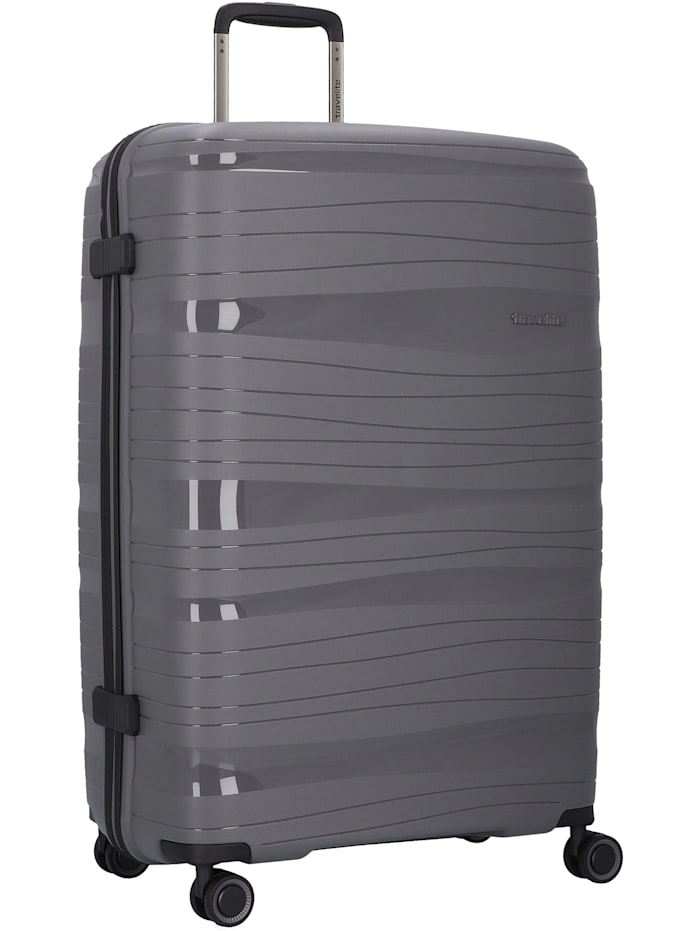 Travelite Motion 4-Rollen Trolley 77 cm, anthrazit