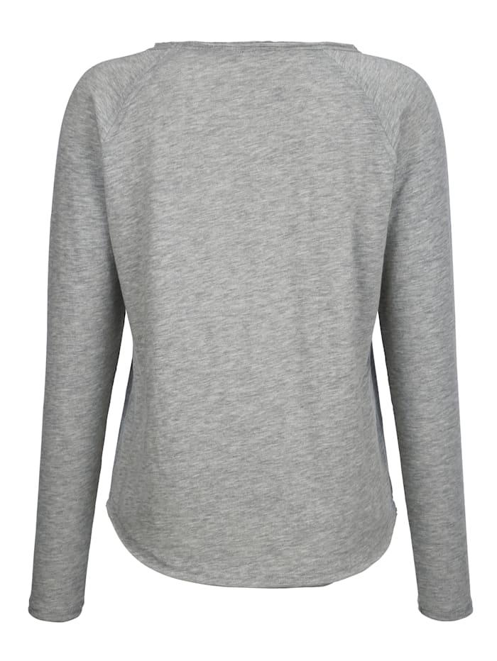Sweatshirt in leichter Baumwollqualität