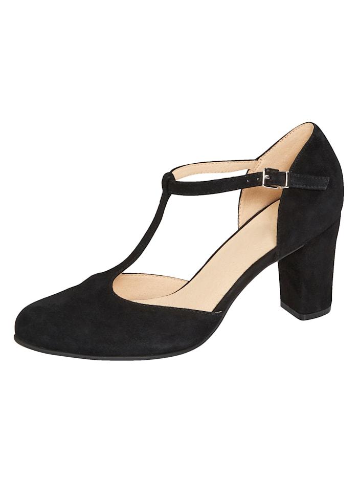 Caprice Court shoes, Black