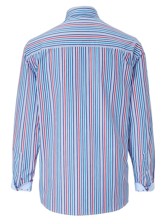 Hemd mit garngefärbtem Streifenmuster