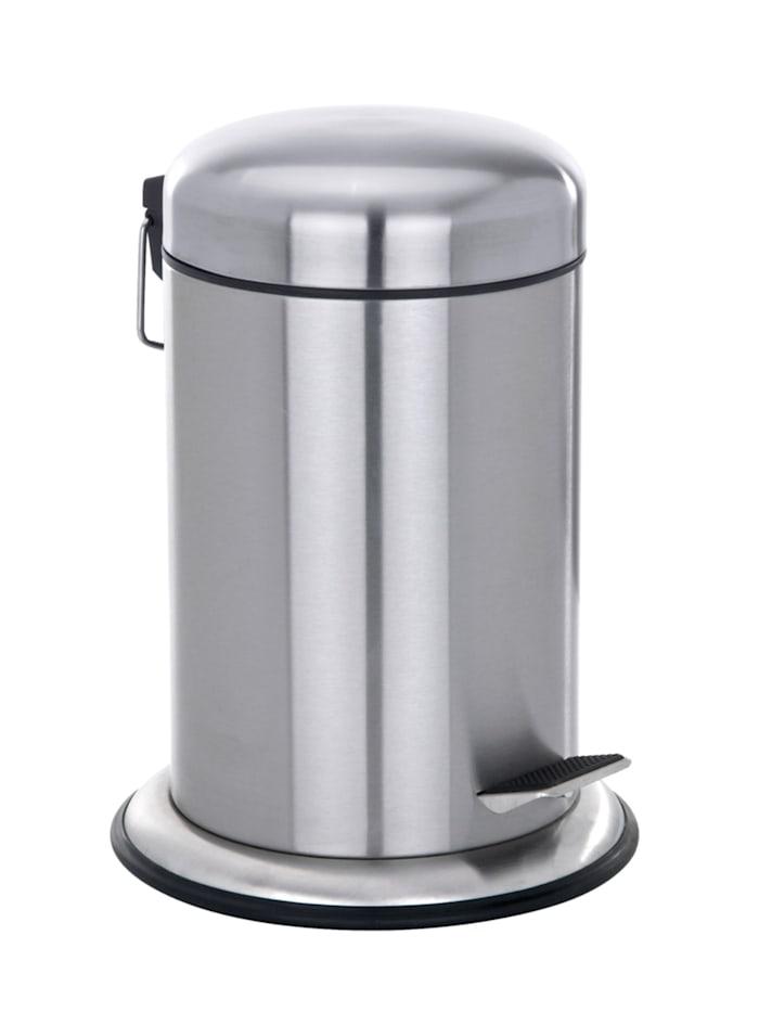Wenko Treteimer Nova Edelstahl, 3 Liter, rostfrei, Satiniert