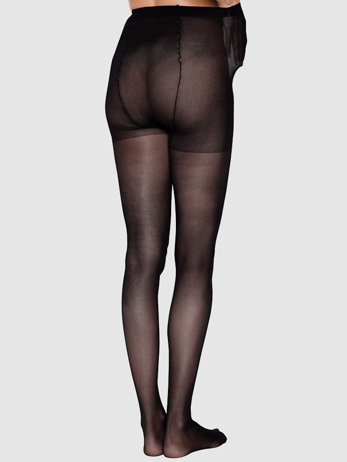 Maxi-panty van zacht, soepel materiaal