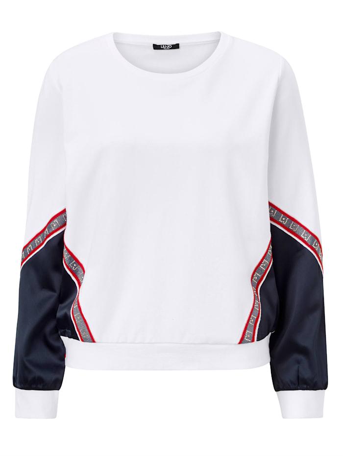 LIU JO Sweatshirt, Off-white