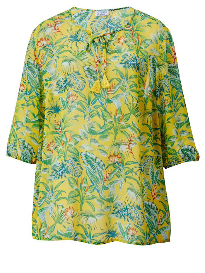 Kukkakuvioinen pusero