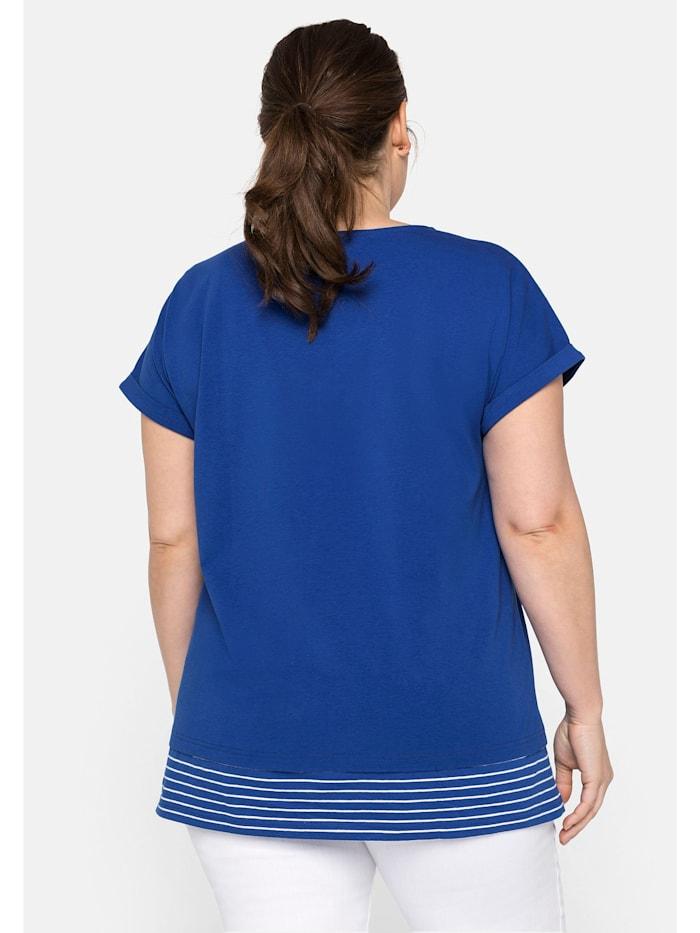 Sheego Shirt mit Streifen