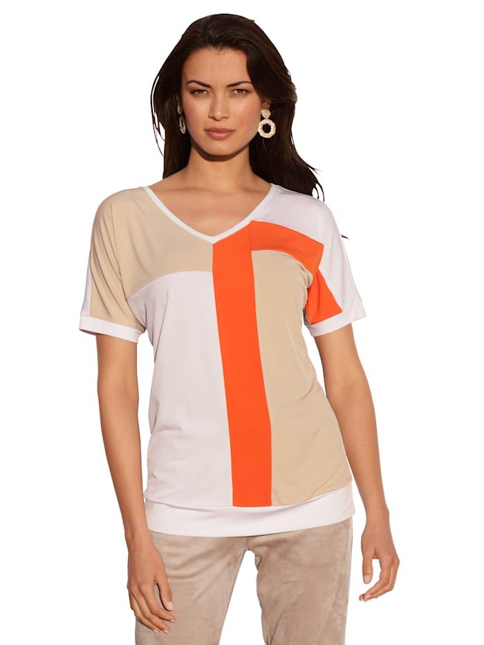 Shirt im Streifen-Dessin