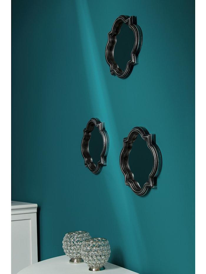 Wanddeko-Set Spiegel, 3tlg.