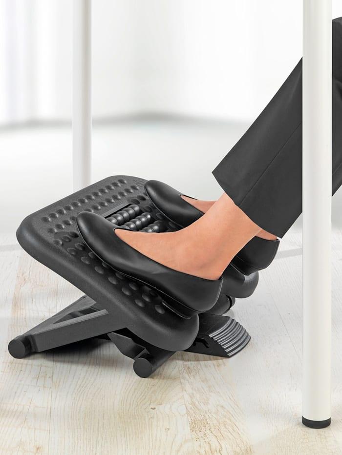 3-in-1-voetsteun met massagerollen