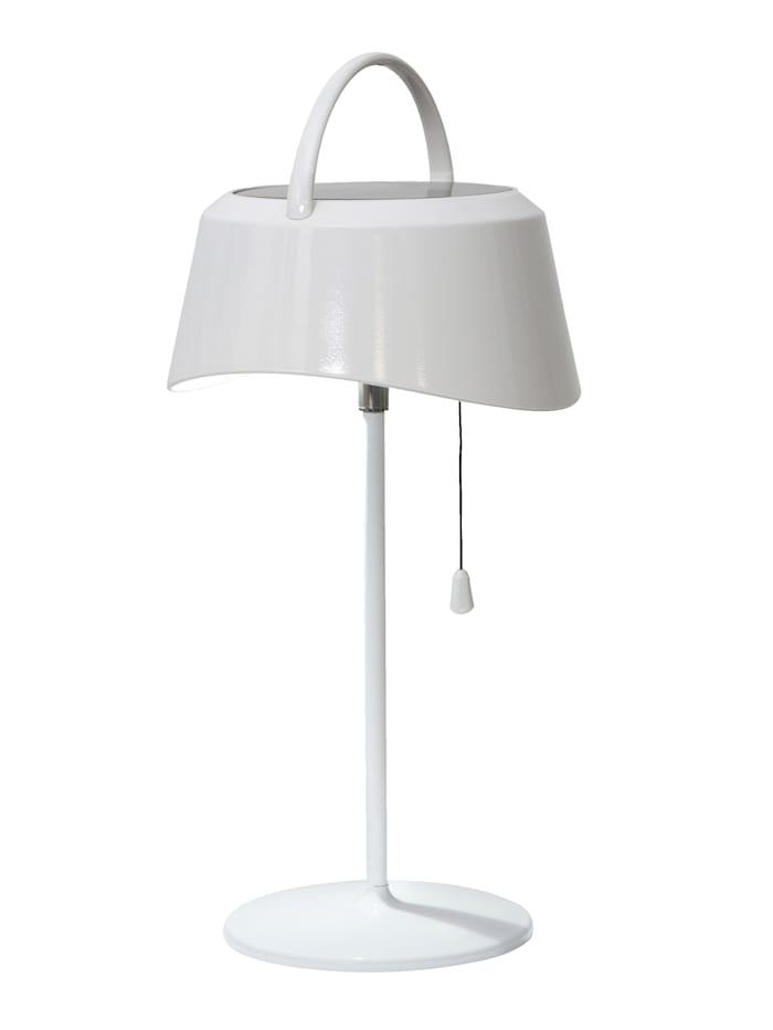 Star Trading Solar Tischlampe, Weiß