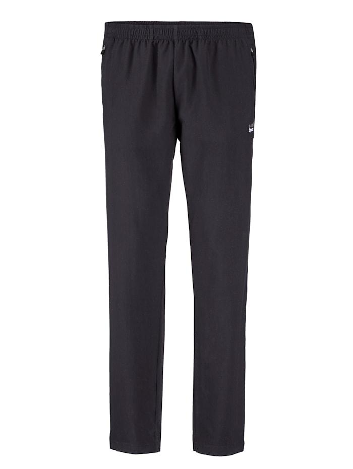 BABISTA Pantalon fonctionnel avec bas de jambes zippé, Noir
