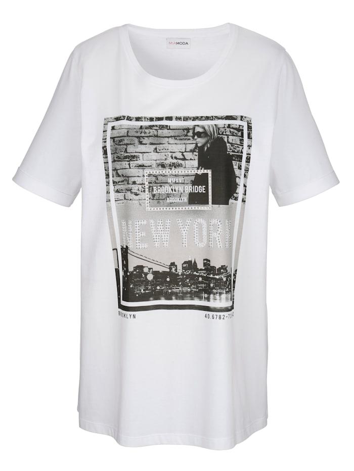 Shirt mit New York Motivdruck
