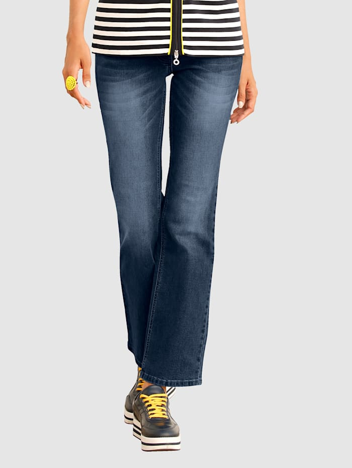 AMY VERMONT Jeans i bootcut, Medium blue