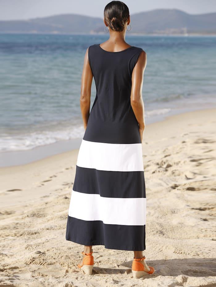 Beachkleid im Ringeldessin