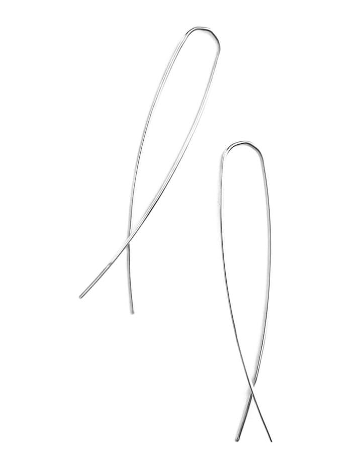 Koshikira Koshikira Damen-Ohrhänger Silber/gold, Silber