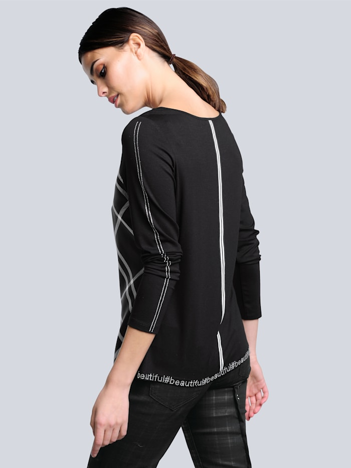 Shirt im exklusiven Dessin nur bei Alba Moda erhältlich