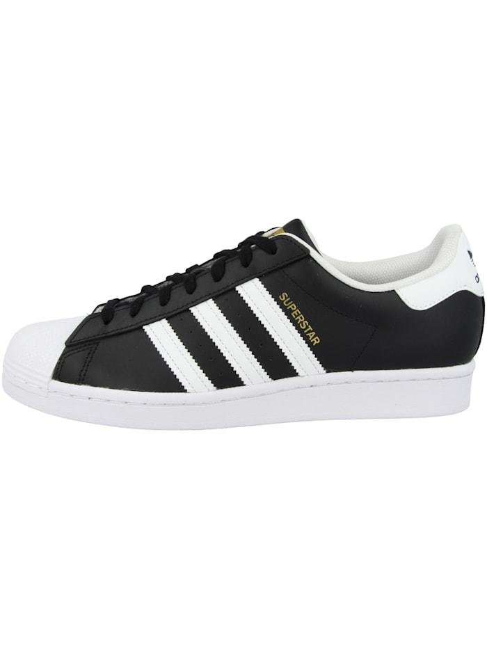 Adidas Originals Sneaker low Superstar, schwarz