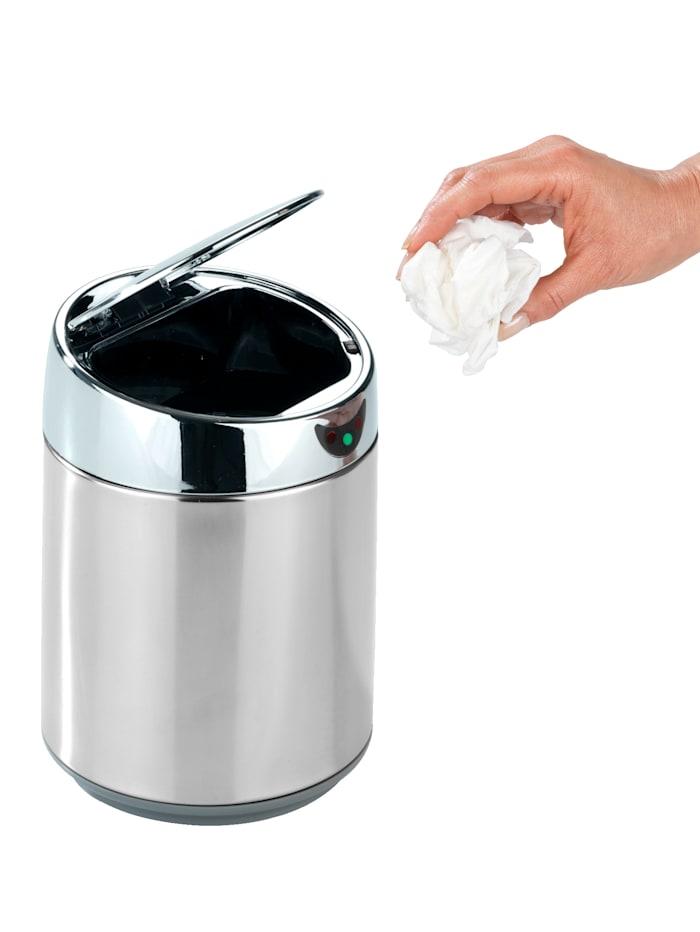 """Wenko Stolní odpadkový koš """"Senso"""", Stříbrná"""