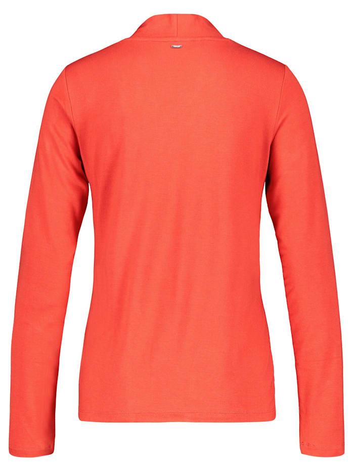 Leicht ausgestelltes V-Shirt EcoVero