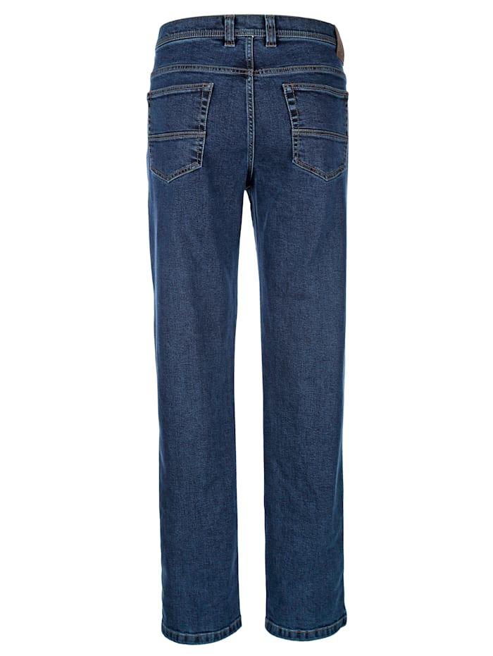 5-Pocket Jeans in bügelfreier Qualität