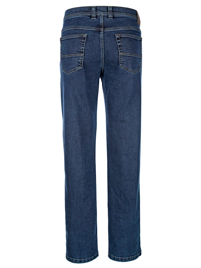 Jeans van strijkvrij materiaal