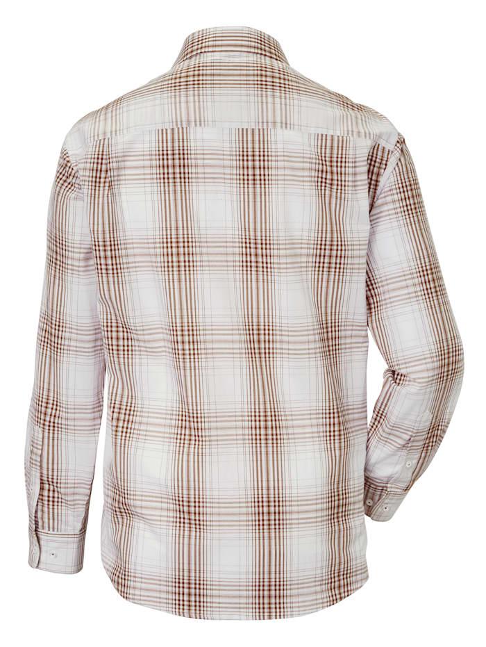 Skjorta i klassiskt rutigt
