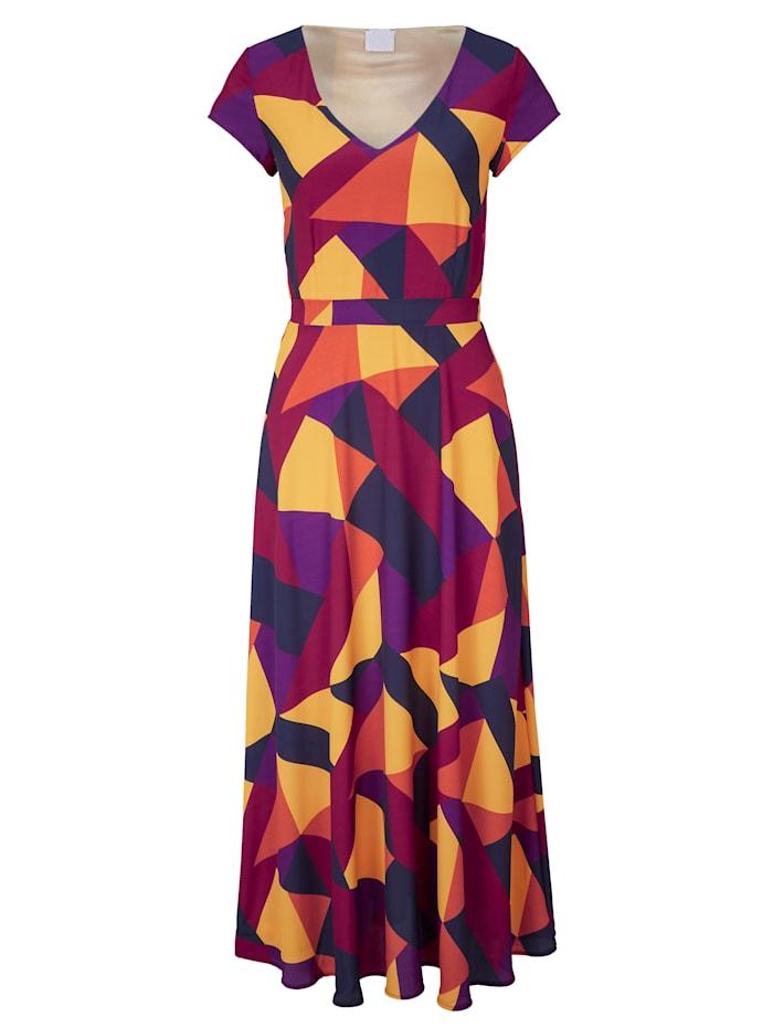 REKEN MAAR Maxikleid, Multicolor