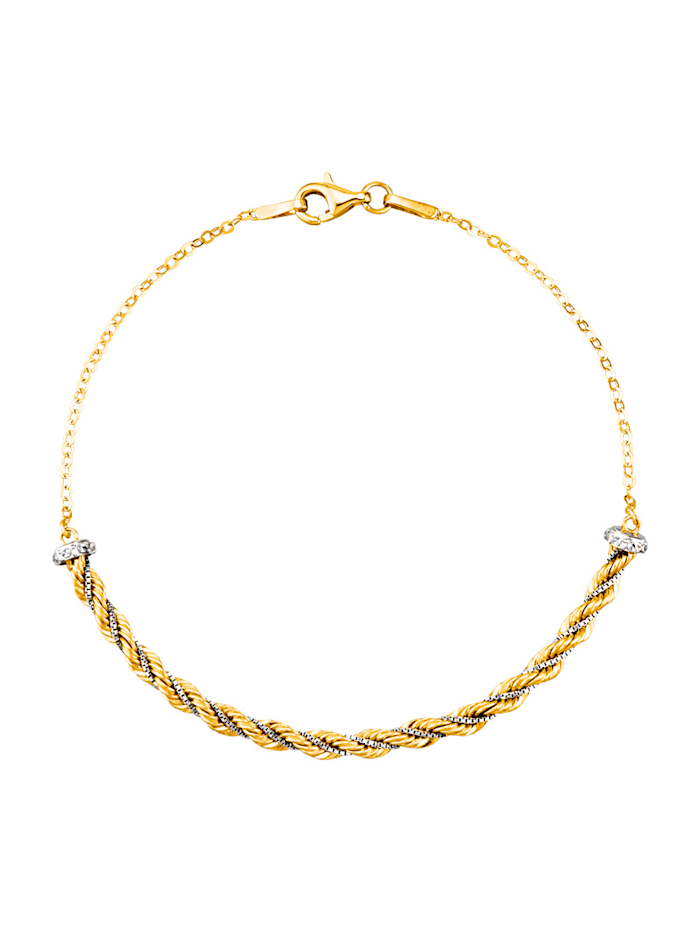 Armband in Gelbgold 375, Gelb