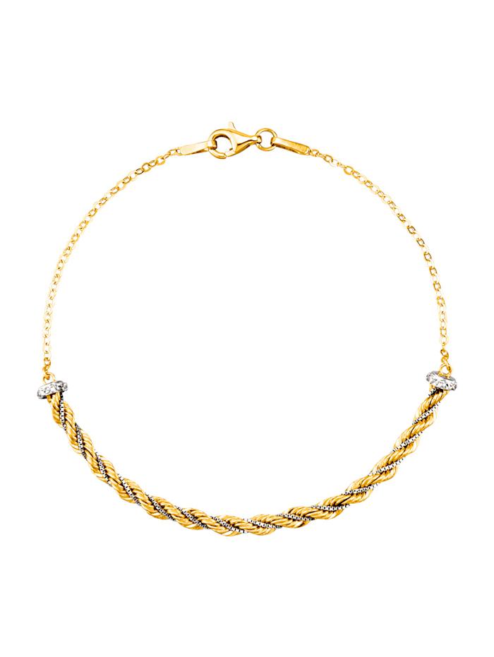 Bracelet en or jaune 375, Jaune