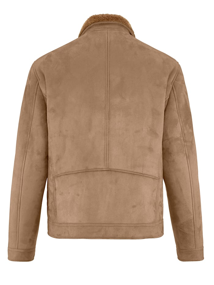 veste en microvelours à doublure toute douce