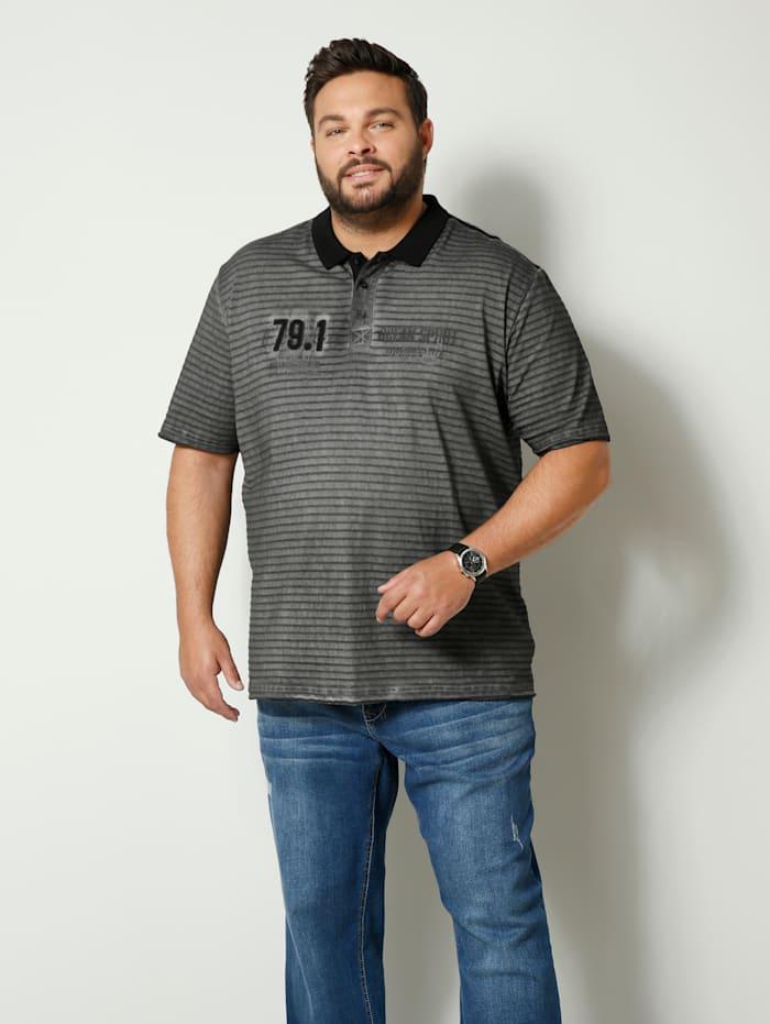 Poloskjorte i ren bomull