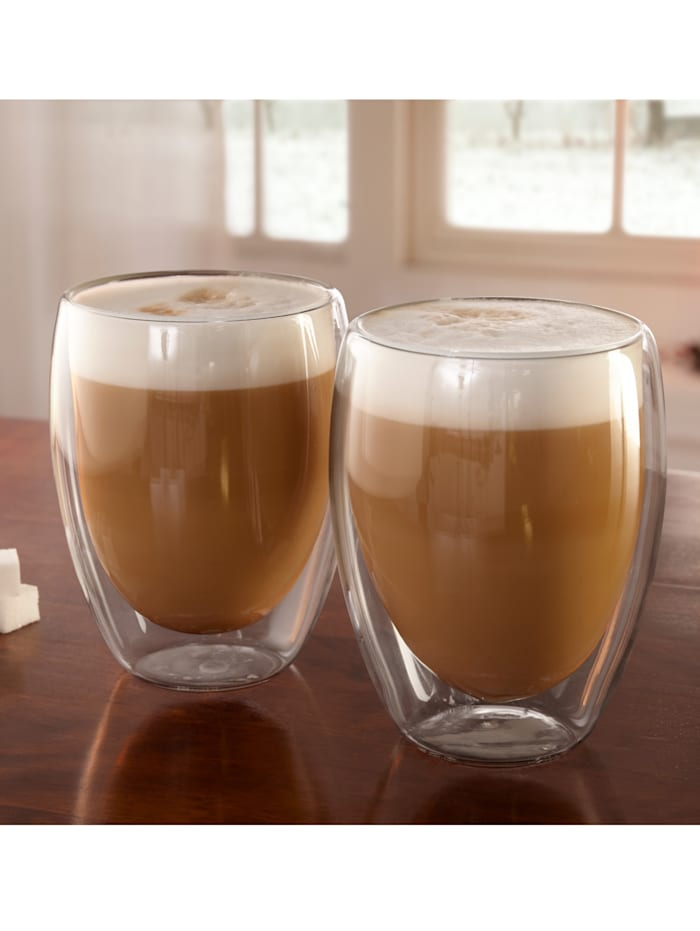 2 latte macchiato-glass