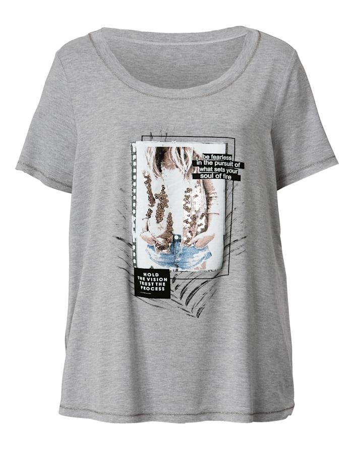 Shirt mit Pailletten