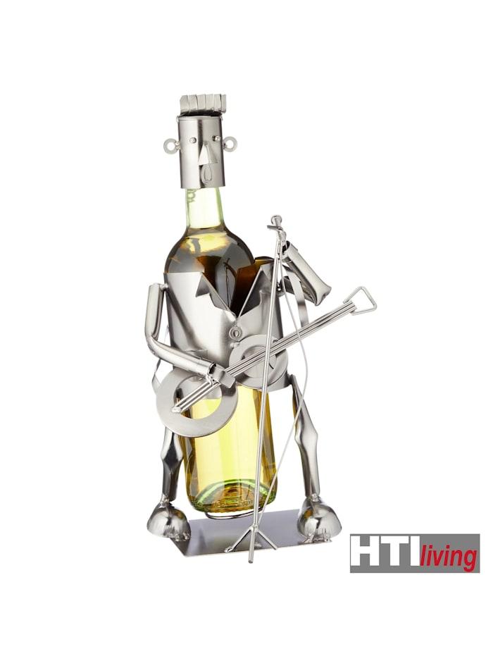 Weinflaschenhalter Gitarrespieler