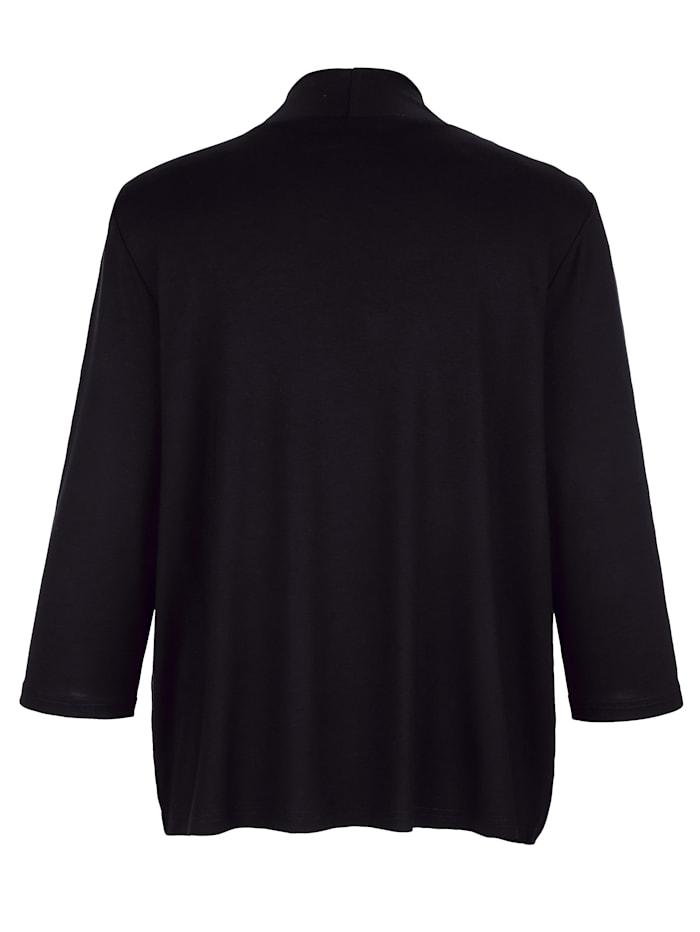 Shirtjacke in modisch verkürzter Form