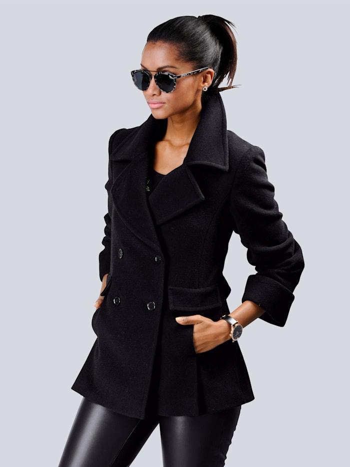 Alba Moda Jacke in softer Qualität, Schwarz