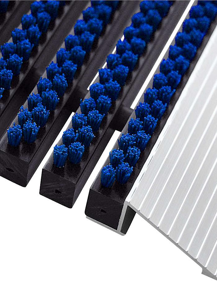 Floordirekt Hochleistungsmatte 'Profi Brush', Blau