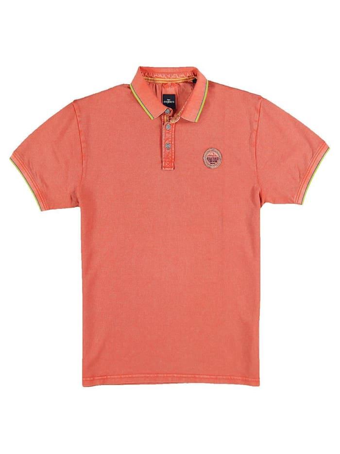 Engbers Piqué Poloshirt, Mandarinorange