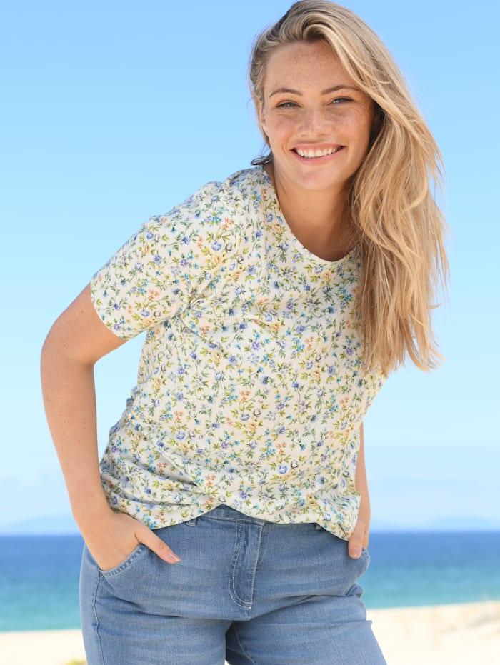 Shirt mit floralem Design