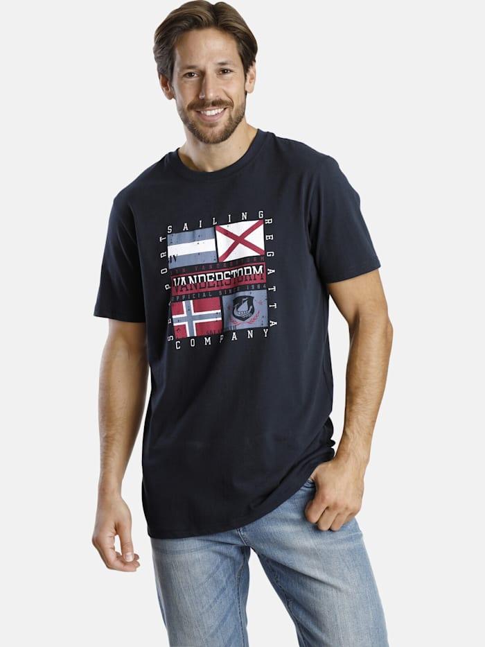 Jan Vanderstorm Jan Vanderstorm Doppelpack T-Shirt PREBEN, dunkelblau