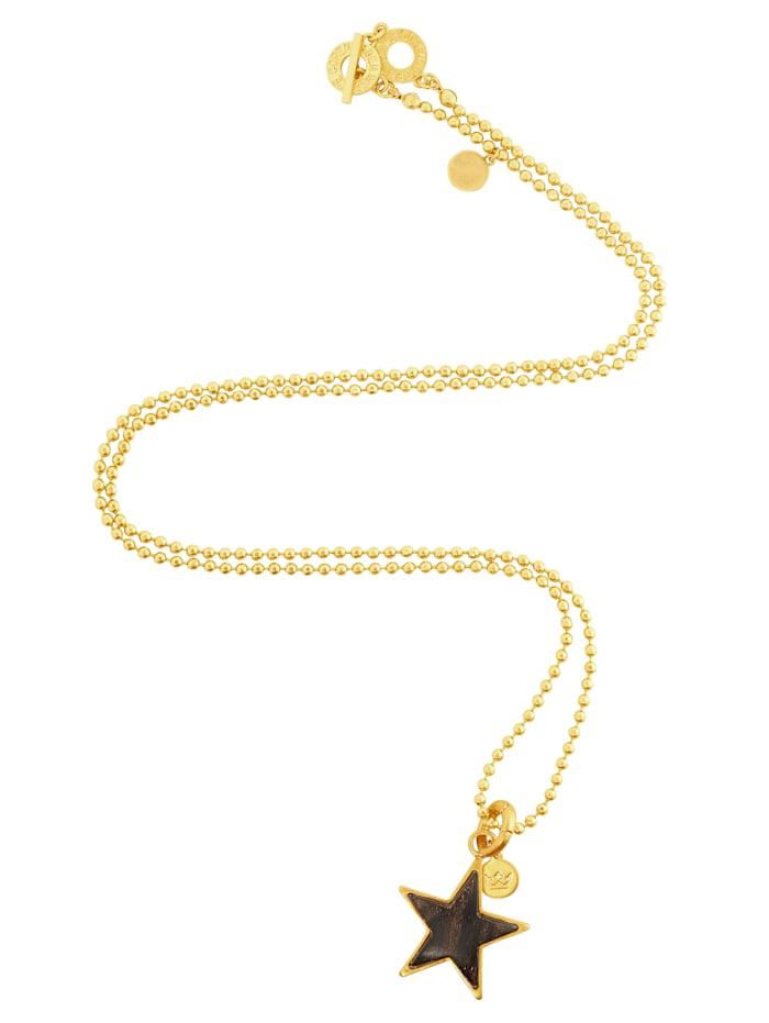 SENCE COPENHAGEN Halskette, Gelbgoldfarben