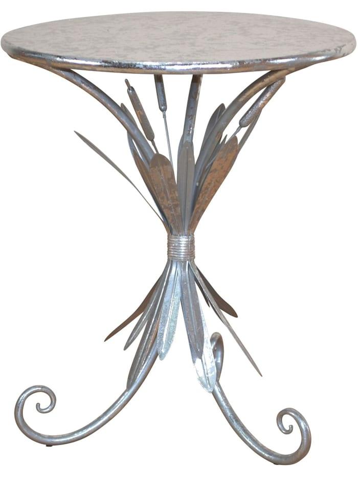 Möbel-Direkt-Online Beistelltisch Stan, silber
