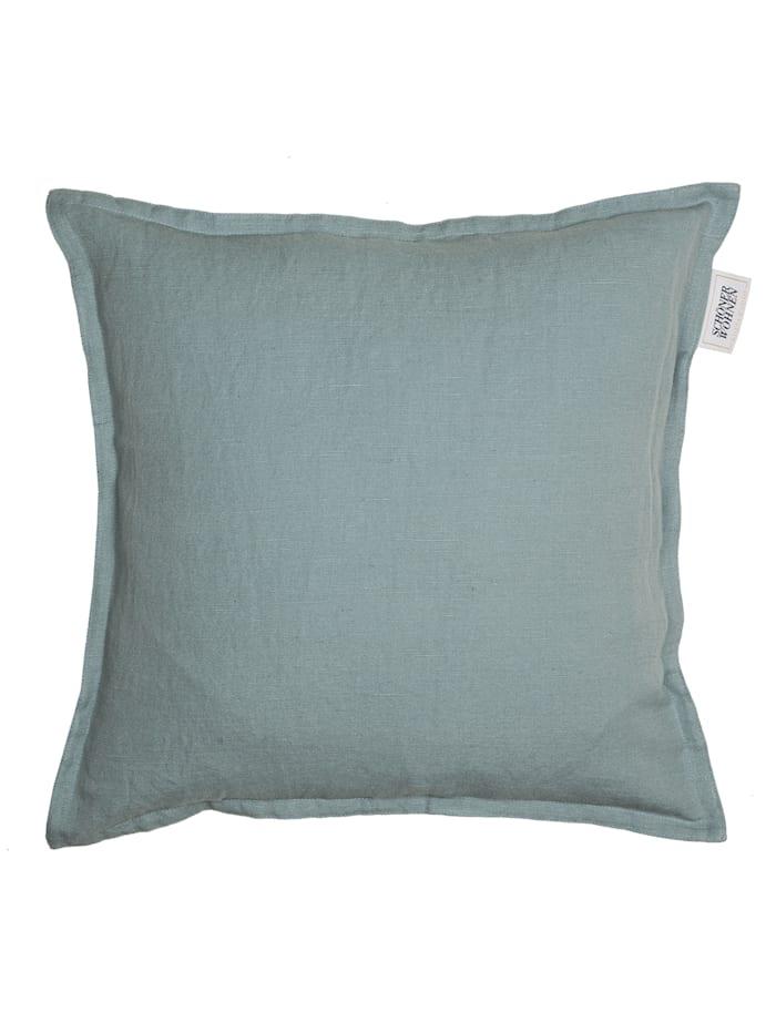 Schöner Wohnen Kollektion Zierkissenhülle Lino, Blau