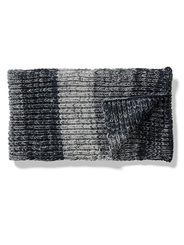 BABISTA Sjaal van gemêleerd materiaal, Marine