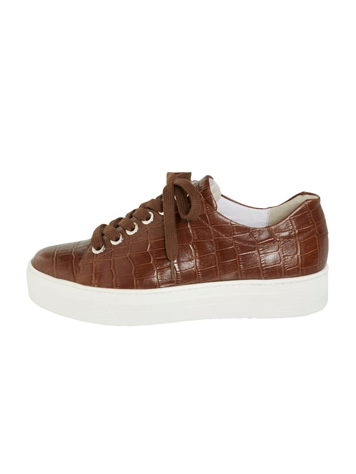 Šněrovací boty s módní platformovou podrážkou