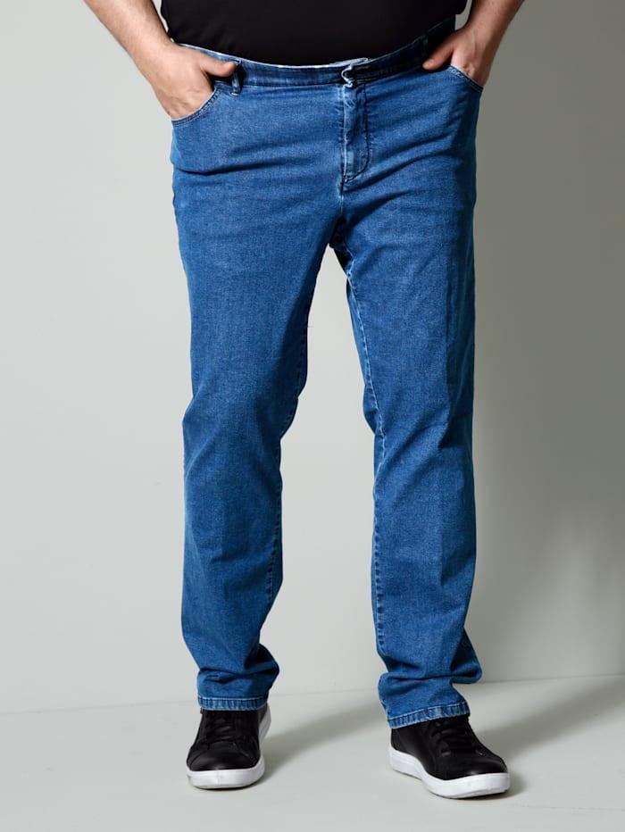 Men Plus Jeans Swingpocketmodel, Steen