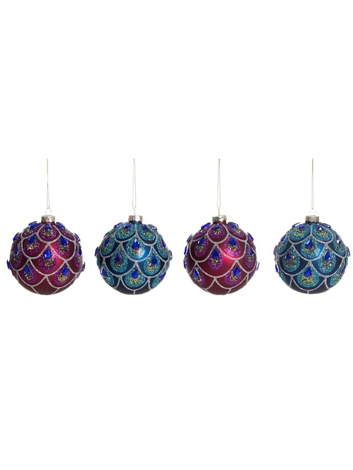 IMPRESSIONEN living Hänger-Set, 4-tlg., Kugel, Multicolor