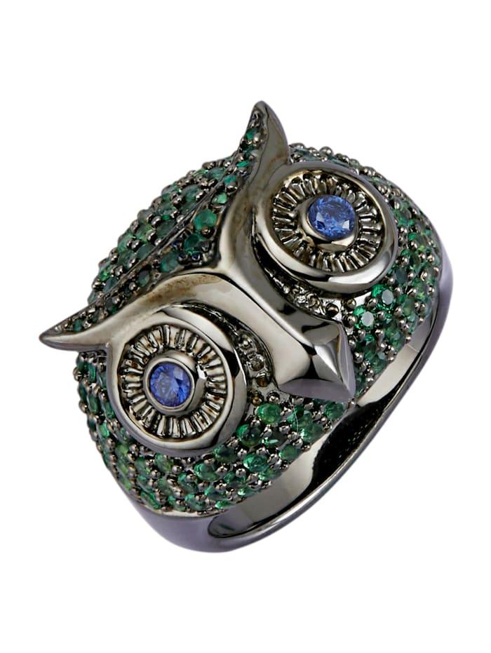 Eulen-Ring, Grün