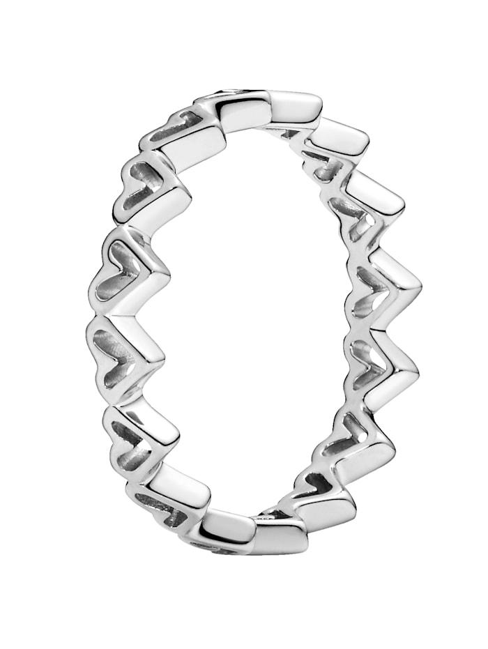 Pandora Damenring, Silberfarben